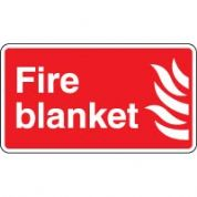 Fire Safety Sign - Fire Blanket 048